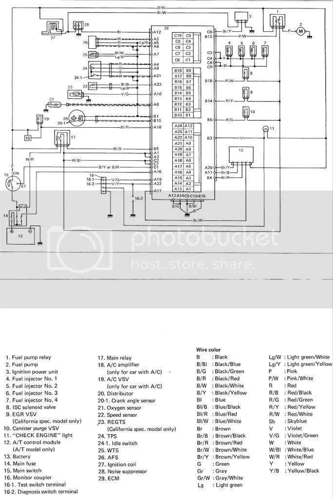 k6a ecu wiring diagram