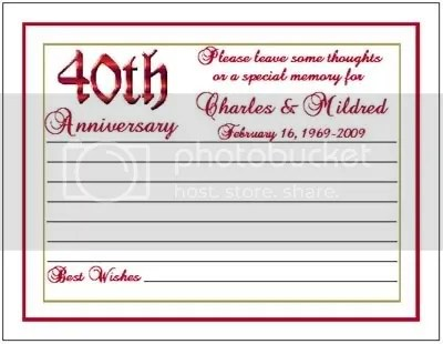 Wedding Anniversary Cards Offset Press Printed Casual Anniversary