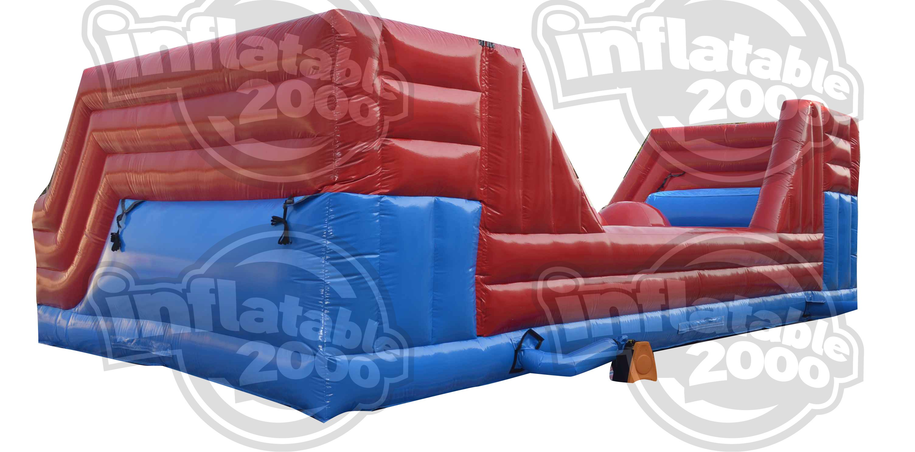 Big Inflatable Couch Leaps Bounds
