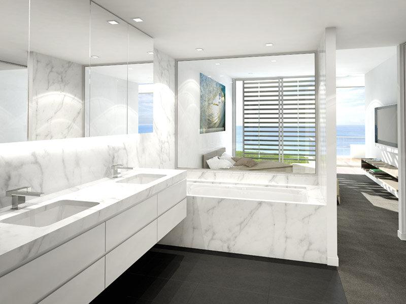 modern bathroom design recessed bath marble bathroom luxurious marble bathroom designs digsdigs
