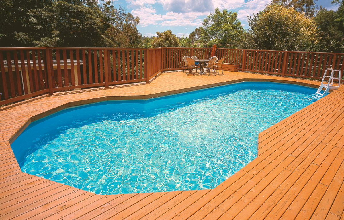 freeform pool real australian home pool photo home swimming pools diy kris allen daily