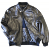 9c878f380f3 Mens Leather Bomber Jacket Soft Lambskin Black tanners avenue jacket