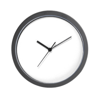 Your Logo Here (Wide) Wall Clock by PersonalizeTheseGifts