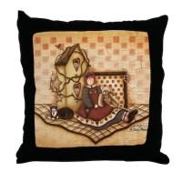 Country Primitive Pillows, Country Primitive Throw Pillows