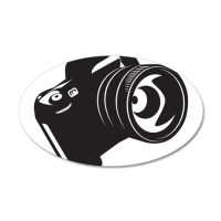 Camera - Photographer Wall Decal by Admin_CP65475253