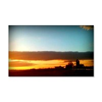 Farmhouse Sunset Wall Decal by Virginiastouchonline