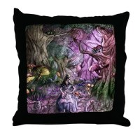 Alice in Wonderland 1 Throw Pillow by Admin_CP46454775