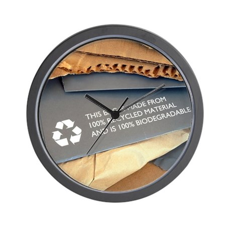 Recycled Material Clocks