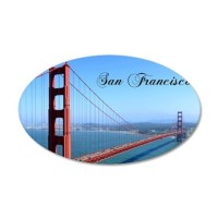 SF_10X8_GoldenGateBridge Wall Sticker by Admin_CP21213326