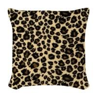 Leopard Print Woven Throw Pillow by Admin_CP72600202