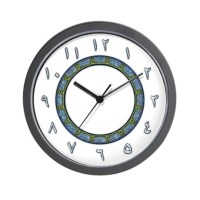 Arabic Numerals Clocks