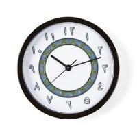 Arabic Numerals Clocks