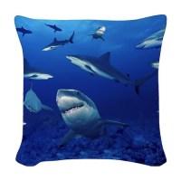 Shark Pillows, Shark Throw Pillows & Decorative Couch Pillows