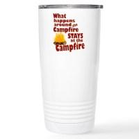 campfire fun Travel Mug by AlabamaGulfCoast