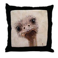 Ostrich Pillows, Ostrich Throw Pillows & Decorative Couch ...