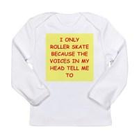 ROLLER Long Sleeve Infant T-Shirt roller skating Long ...