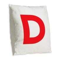 Letter D Pillows, Letter D Throw Pillows & Decorative ...
