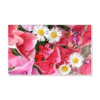 Summer flowers blossom Wall Decal by imagineallartshop