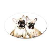 French Bulldogs Wall Decal by ritmoboxers