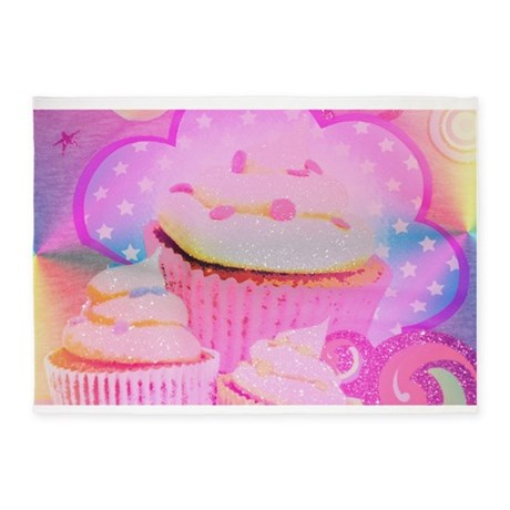 Cupcakes Covered In Sparkly Sugar 539x739area Rug By Stircrazy