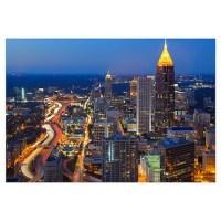 Atlanta Skyline Wall Art | Atlanta Skyline Wall Decor