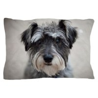 Schnauzer Pillow Case by listing-store-120068912