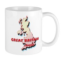 Great Britain Coffee Mugs | Great Britain Travel Mugs ...