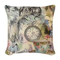 Alice In Wonderland Pillows, Alice In Wonderland Throw ...
