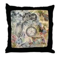 Alice Wonderland Pillows, Alice Wonderland Throw Pillows ...