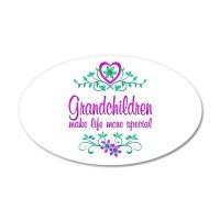 Special Grandchildren Wall Decal Sticker by heartfeelings