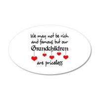 GRANDCHILDREN ARE PRICELESS Wall Decal by Greatnotions12