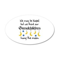 GRANDCHILDREN HUNG THE MOON Wall Decal by Greatnotions12