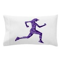 Run Hard Pillow Case by ADMIN_CP1053336