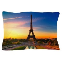 Eiffel Tower Pillow Case by WickedDesigns4