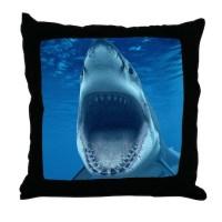 Shark Jaws Pillows, Shark Jaws Throw Pillows & Decorative ...