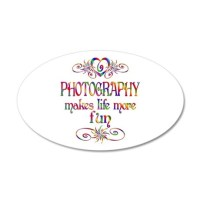 Photography More Fun Wall Decal Sticker by mindoutlet