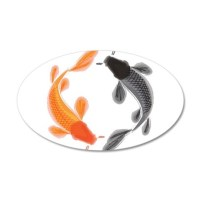 Japanese Koi Wall Decal by yneami