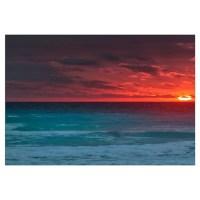 Sunset Beach Wall Decal