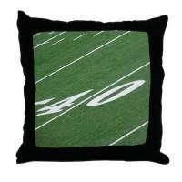 Football Field Pillows, Football Field Throw Pillows ...