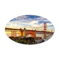 Golden Gate Bridge Wall Sticker by WickedDesigns4