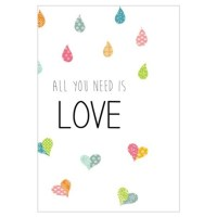 All You Need Is Love Wall Art   All You Need Is Love Wall ...