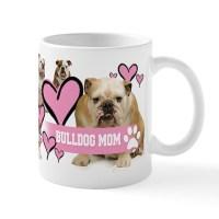 English Bulldog Drinkware | Coffee Mugs, Drinking Glasses ...