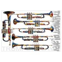 Trumpets Wall Art | Trumpets Wall Decor