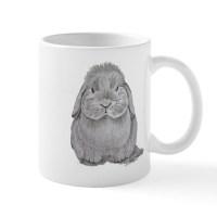 Lop Eared Rabbit Coffee Mugs | Lop Eared Rabbit Travel ...