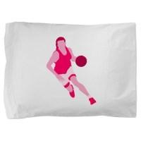 Pink Play Hard Pillow Sham by sportygirls
