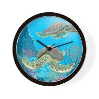 Sea Turtle Wall Clock by BestGear2