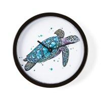 Sea Turtle Wall Clock by ADMIN_CP111924938