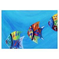 Tropical Fish Wall Art | Tropical Fish Wall Decor