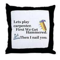 Carpenter Pillows, Carpenter Throw Pillows & Decorative ...