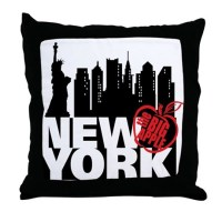 New York City Pillows, New York City Throw Pillows ...